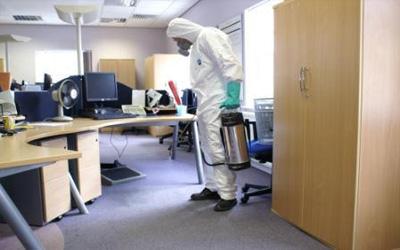 İş yerinde fazlaca zaman geçiriyoruz.  Bu alanların kısa sürede kirlenmesi ve zararlı organizmaları ve haşereleri bünyesinde barındırması...